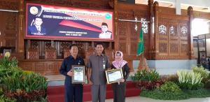 Penghargaan  atas kinerja di PN JEMBER