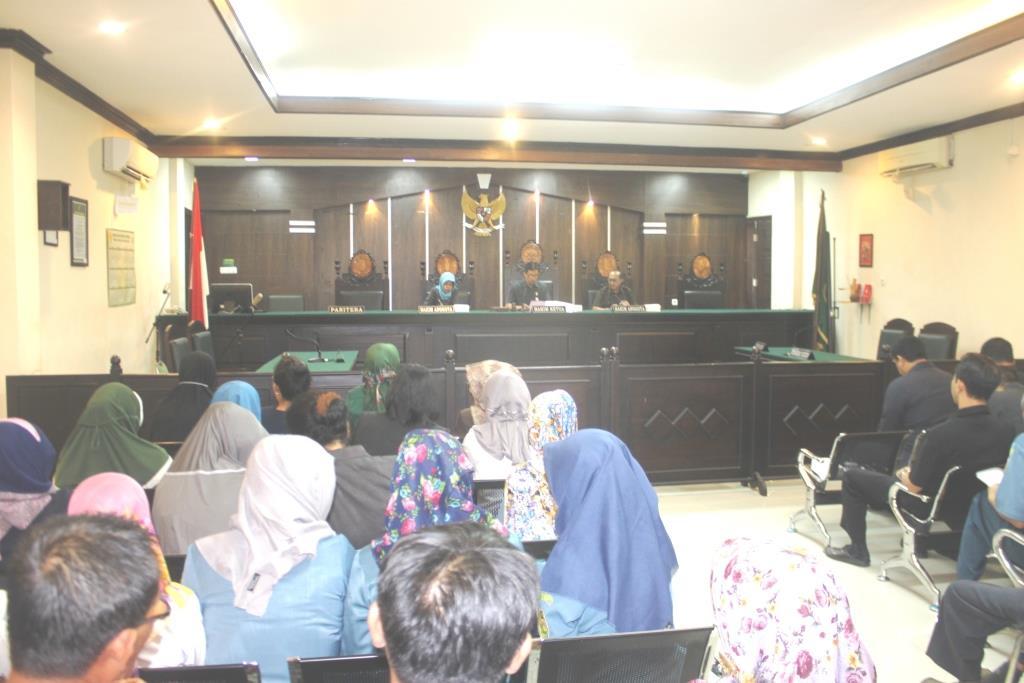 Rapat Khusus dalam menanggapi OTT yang terjadi di peradilan