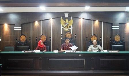 Rapat Bulanan dan Monev di Pengadilan Negeri Jember
