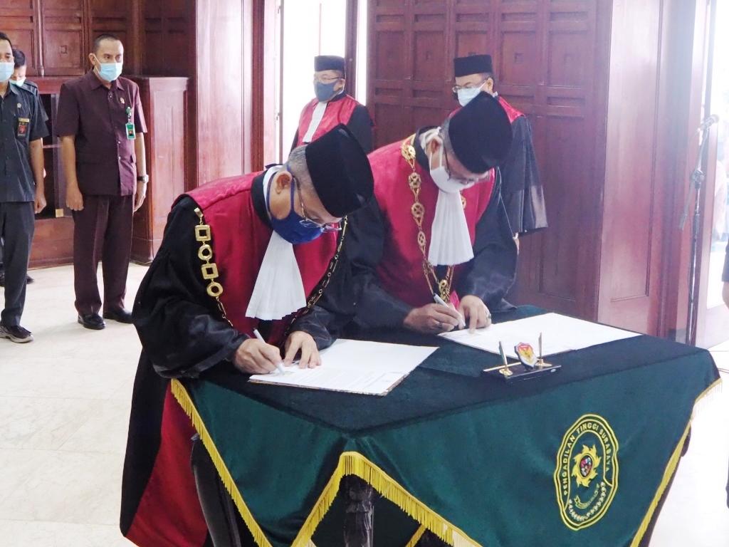 Pengambilan Sumpah, Pelantikan dan Serah Terima Jabatan Ketua Pengadilan Negeri Jember