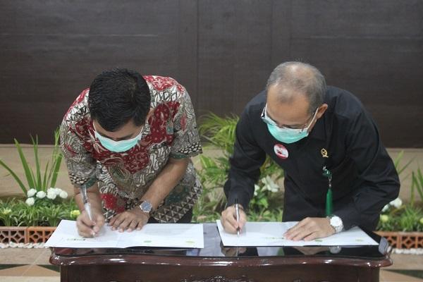 Penandatanganan Perjanjian Kerjasama dengan Fakultas Hukum Universitas Jember